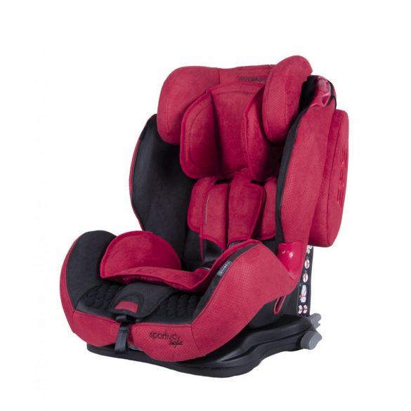 Coletto Sportivo Isofix biztonsági gyermekülés, piros