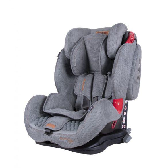Coletto Sportivo Isofix biztonsági gyermekülés, szürke
