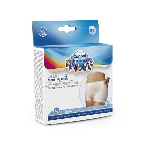 Elasztikus és mosható szülés utáni fehérnemű L/XL