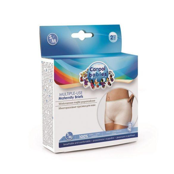Elasztikus és mosható szülés utáni fehérnemű S/M