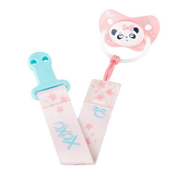 Canpol babies Cumitartó szalag Exotic Animals rózsaszín