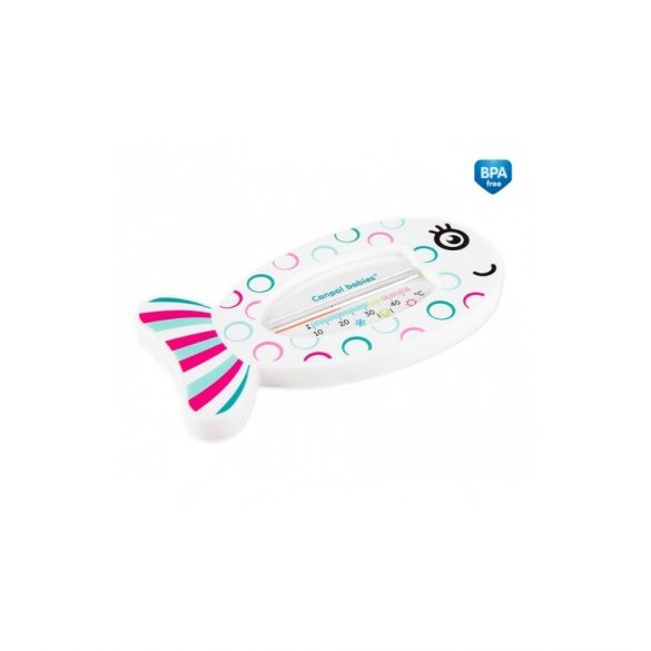 Canpol babies hőmérő a fürdőkádba halacska rózsaszín