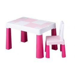Tega Baby Multifun gyerek szett asztal és szék - Rózsaszín
