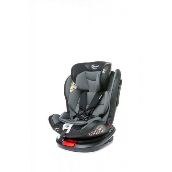 4 Baby Roto-fix biztonsági gyermekülés, sötét szürke