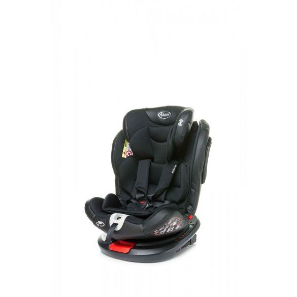4 Baby Roto-fix biztonsági gyermekülés, fekete