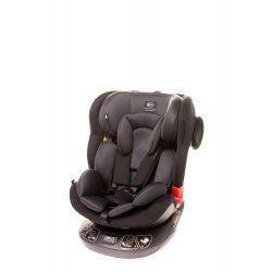 4 Baby Space-fix 360°-ban forgatható 0-36kg isofixes gyermekülés-Light grey