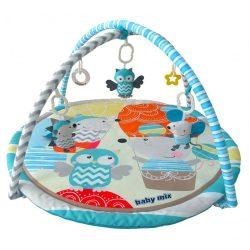 Baby Mix játszószőnyeg, bagoly és süni