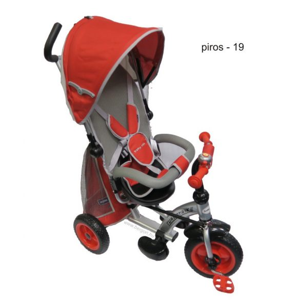 Baby Mix tricikli Turbo Trike, piros