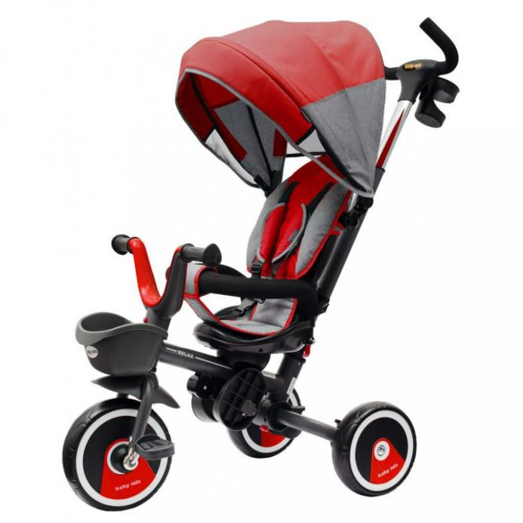 Baby Mix Tricikli 5in1 Relax Piros