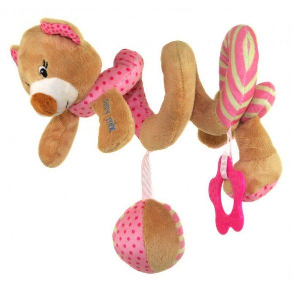 Baby mix spirál - Rózsaszín maci