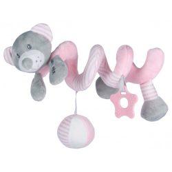 Baby mix spirál - Rózsaszín macis
