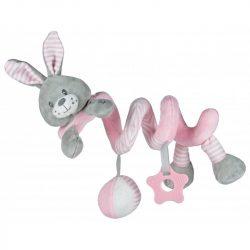 Baby mix spirál - Rózsaszín nyúl