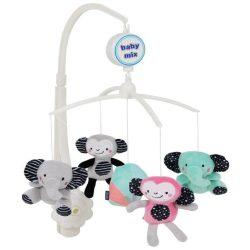 Baby mix zenélő forgó - Elefánt és majom 494 M